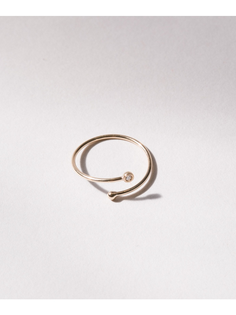 [Rakuten BRAND AVENUE]Favorible diamond ring ROSSO アーバンリサーチロッソ アクセサリー【送料無料】