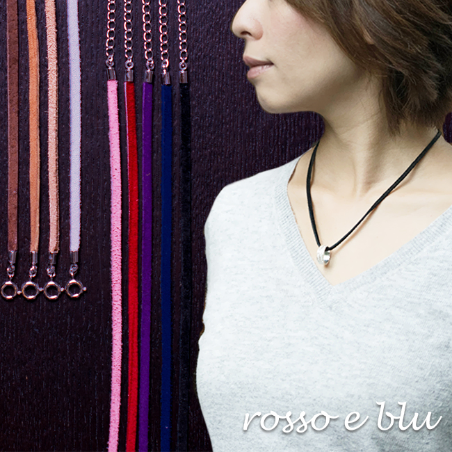 Rossoeblu Necklace Mens Womens Leather Popular This Strap 40 To