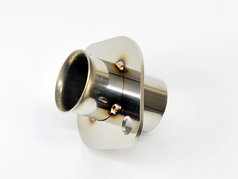格安激安 気になる音量に 日本製 86やBRZに最適 汎用 ステンレスフランジサイレンサーメインパイプφ60 トルクUP 消音 専用 ステンレス製