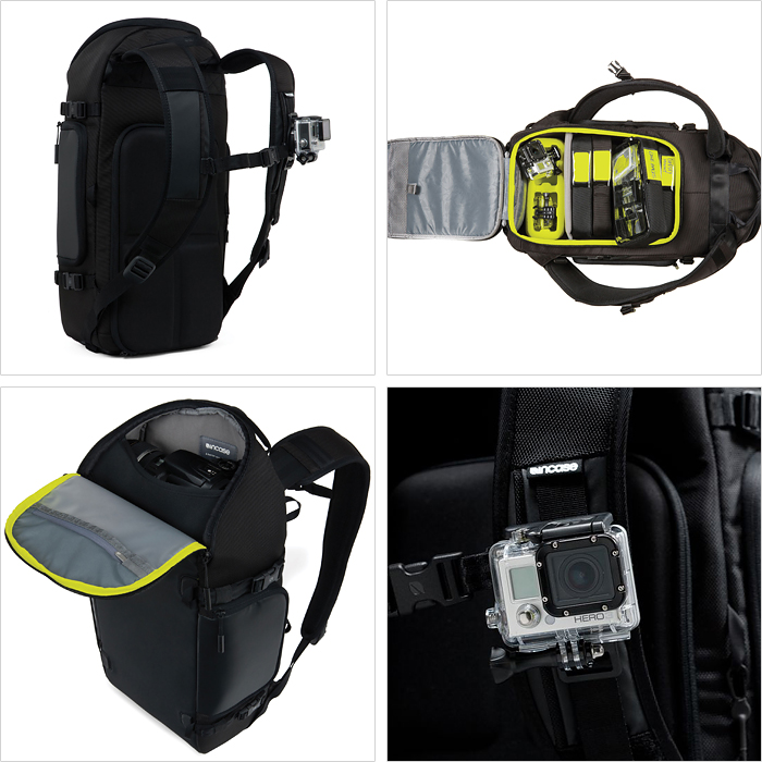 Quo card 1000 yen-★ CL58084 incase camera bag Luc Incase Pro Pack for GoPro camera bag action camera shoulder INCASE backpack incase backpack incase Backpack Rucksack go pro camera bag fashion P25Apr15's reviews