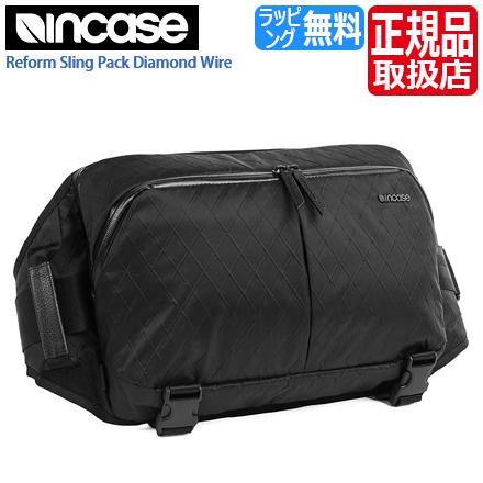 インケース ショルダーバッグ CL55603 インケース ボディバッグ スリングバッグ ダイアモンドワイヤー Reform Sling Pack メンズ バッグ レディース バッグ おしゃれ Incase かわいい ショルダーバッグ iPad バッグ 斜めがけ
