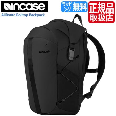 インケース リュック INCO100418-BLK おしゃれ INCASE メンズ 可愛い レディース リュックサック バックパック ノートPC 通勤 通学 かわいい MacBook Pro Backpack ロールトップ