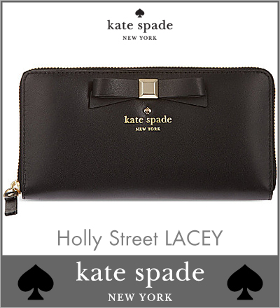 7d617e349cd8 In review Quo 2000 ¥ present during ☆ PWRU3706 001 Holly Street LACEY Black Kate  spade purse Kate Spade women's wallets purse ladies zip around Kate spade  ...