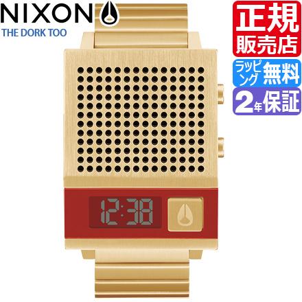 ニクソン 腕時計 NA1266502 [正規3年保証] メンズ NIXON 時計 THE DORK TOO レディース nixon 入学祝い 誕生日 彼氏 プレゼント おしゃれ ブランド おすすめ 人気 USB充電 ボイス機能 しゃべる 時計