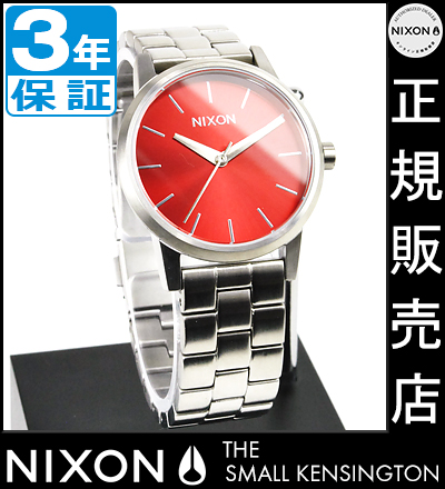 NIXON WATCH NA3611260-00 SMALL KENSINGTON DARK RED