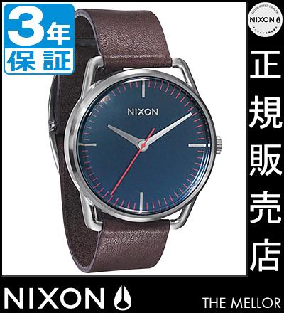 NIXON WATCH NA129879-00 MELLOR NAVY/BROWN