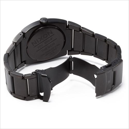 NIXON WATCH NA358577-00 DON II ALL BLACK/ORANGE
