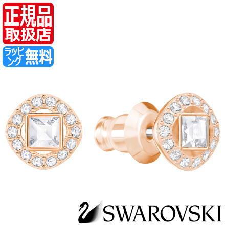 ad4d6d7fb Swarovski pierced earrings SWAROVSKI regular article dealer 5352049 ANGELIC  SQUARE pierced earrings Lady's accessories jewelry crystal