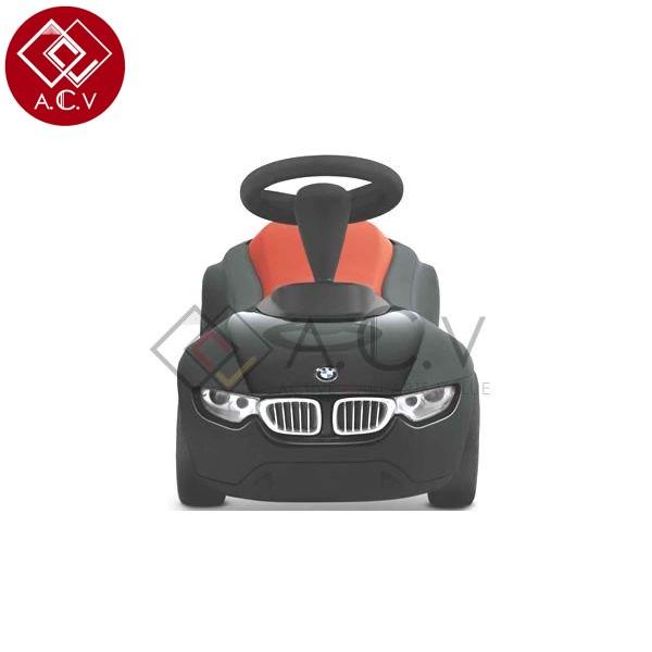 【送料無料】 BMW 純正 ベビーレーサー ブラック/オレンジ 3代目 子供用 キッズ 乗用玩具 キックカー 1-3歳 誕生日 プレゼント 記念日 入園祝い キッズ 足けり ペダルカー のりもの くるま ベイビー プレゼント 記念日 BMW製 ドイツ