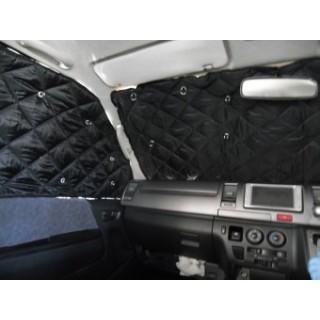 アウトドア ショップ 車中泊の定番アイテム 大決算セール サーモプロテクターハイエース200系ワイドボディフロントセット