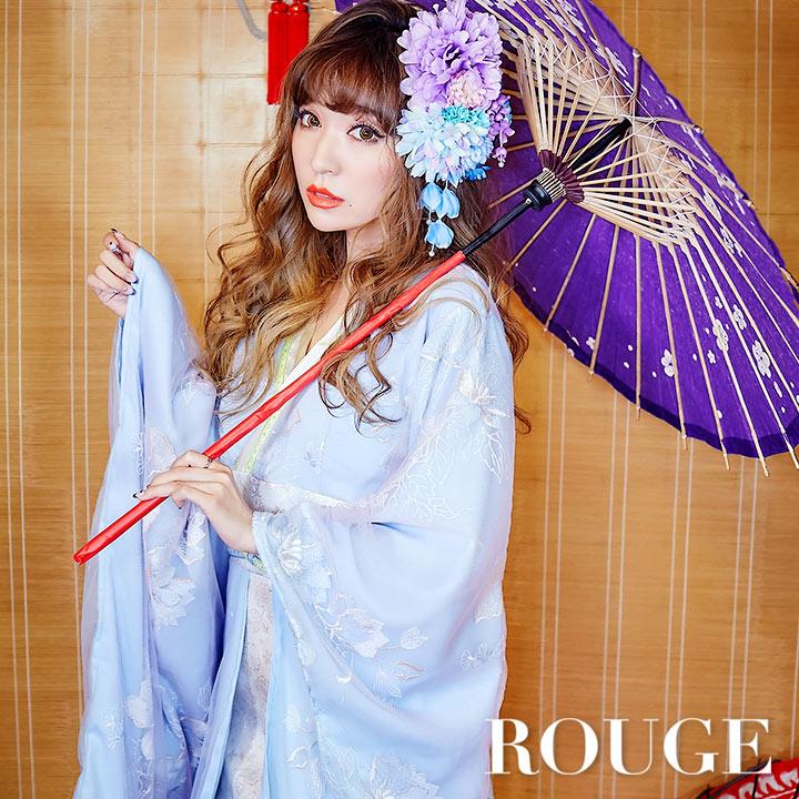 【あす楽】コスプレセット/レディース/姫/侍/ハロウィン【ROUGE   ルージュ】 6567sb