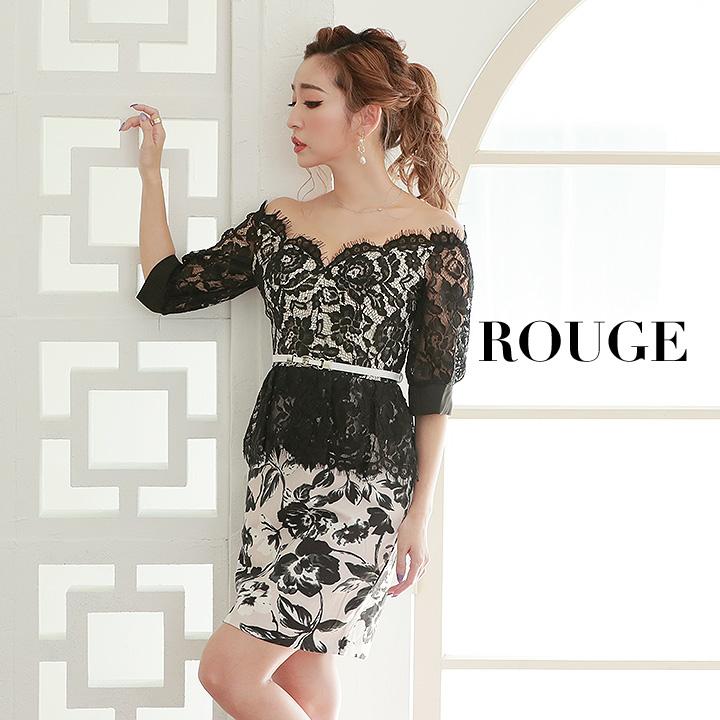 369c2b2bb25a2 キャバドレス ドレス S M L XL ルージュ キャバドレス 長袖 ドレス ミニ 大きいサイズ s m l xl サイズ