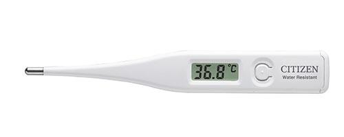 オーバーのアイテム取扱☆ シチズン電子体温計 在庫あり CT422 メール便対象品 医療機器