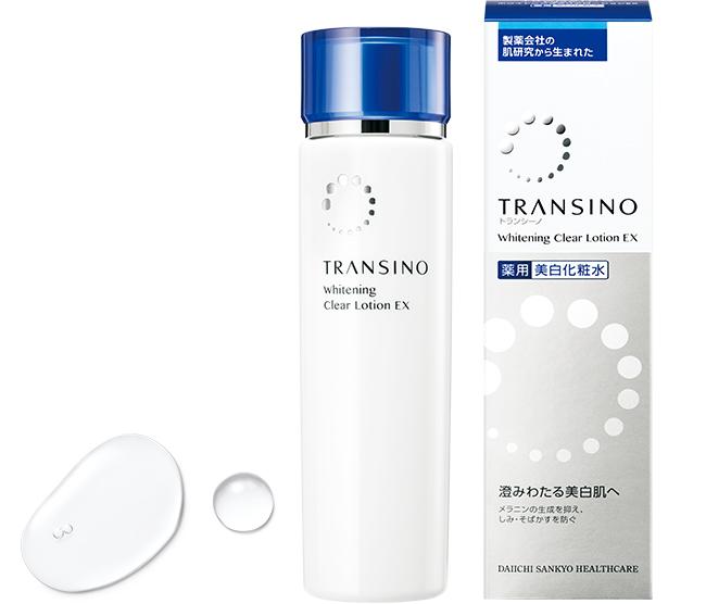 クリアでみずみずしい肌に導く美白ローション トランシーノ 薬用 ホワイトニングクリアローション 豪華な EX 初売り 第一三共ヘルスケア 医薬部外品 150ml TRANSINO 薬用美白化粧水