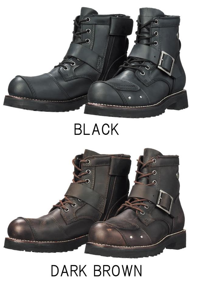 SIERRA DESIGNS 7ホールバイカーズブーツ SD5005 シエラデザインズ バイク用 革靴 レザーシューズ