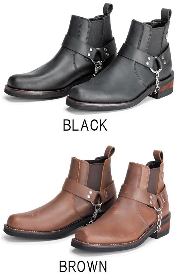 【SIERRA DESIGNS】 サイドゴアリングブーツ SD5004 シエラデザインズ バイク用 革靴 レザーシューズ