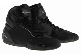 【alpinestars】FASTER 2 WP SHOES ブラック/ガンメタ