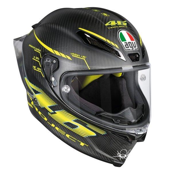 新品 送料無料 AGV PISTA おすすめ GP R PROJECT 46 2.0 ロッシ バレンティーノ プロジェクト ピスタGP カーボンヘルメット Lサイズ