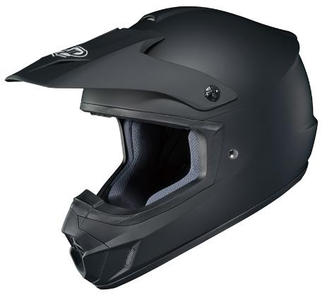 HJC CS-MXII セミフラットブラック HJH102 オフロードヘルメット