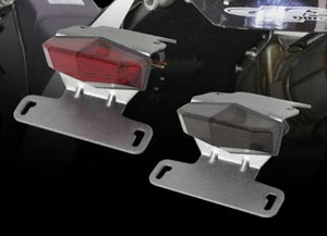 【DRC】MOTOLED エッジ アルミホルダーKIT KLX125/150/D-TRACKER125用 スモークレンズ [D45-18-515]