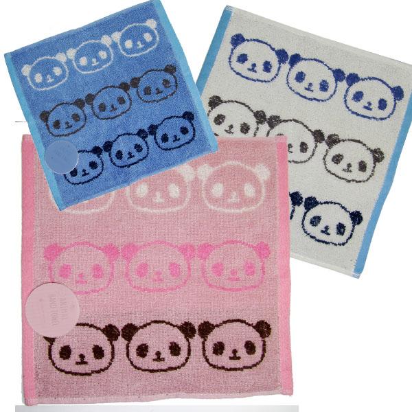 大人も使える仕上がりのジャガード パンダ ハンドタオル Jacquard Panda Handkerchief Towel ジャガードパンダハンカチタオル 25×25cm TL-H92 ネコポス便可 可愛い 中国 安い 激安 プチプラ 高品質 ハンカチ 赤ちゃん ro0904 中華街 シャンシャン 雑貨 香香 ぱんだグッズ ハンカチでマスク チープ