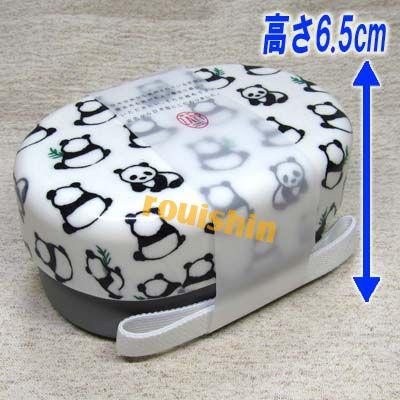 Tupperware & Bento ZAPP oval compact lunch box Panda 02P01Oct16