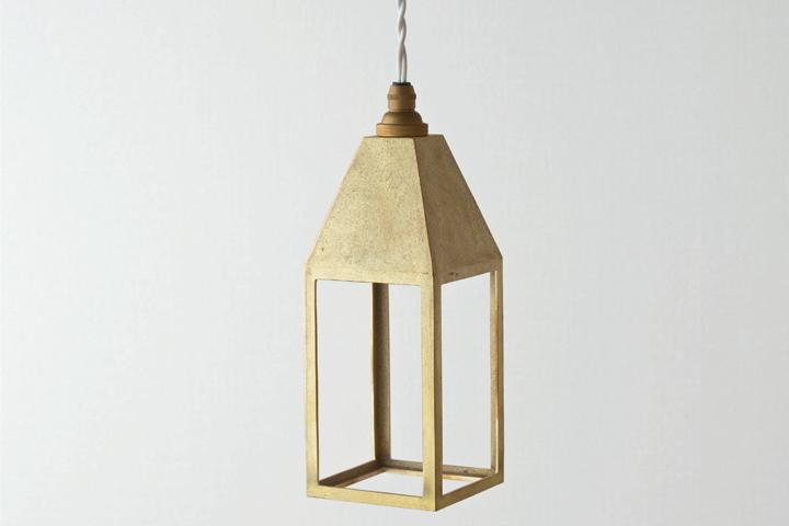 【送料無料】FUTAGAMI フタガミ ペンダントランプ ランタンランプ 吊り型二上 日本老舗 真鍮鋳物照明 金属ランプシェード【ポイント】: