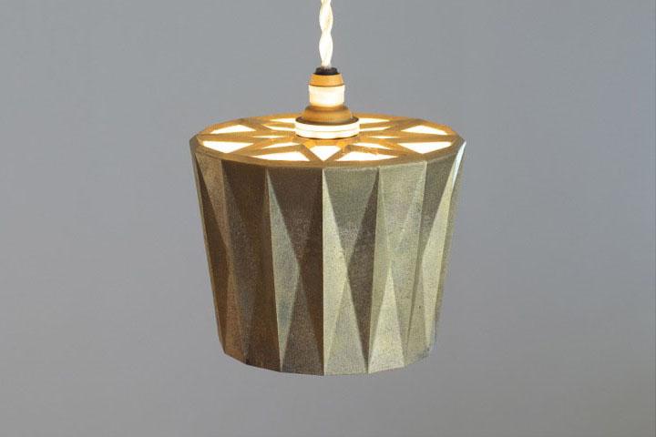 【送料無料】FUTAGAMI フタガミ ペンダントランプ 星影 鋳肌二上 日本老舗の真鍮鋳物照明 金属ランプシェード: