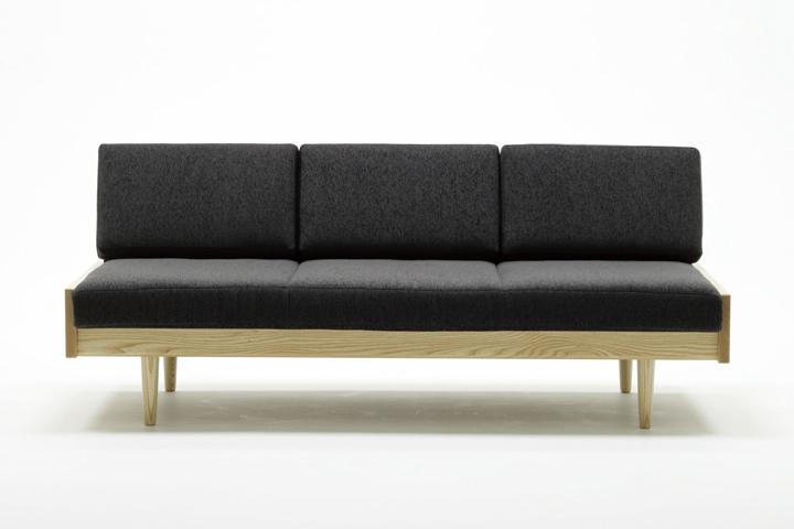 graf Day bed sofa グラフ デイベッドソファ 3人掛け 生地Bランク(合成皮革:合皮:レザー) 大阪 graf(グラフ) ソファ 正規取扱販売店: