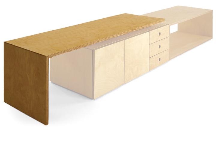 miyakonjo product SUMITSUBO desk natural小泉 誠デザインミヤコンジョ プロダクト スミツボ デスク【ポイント】: