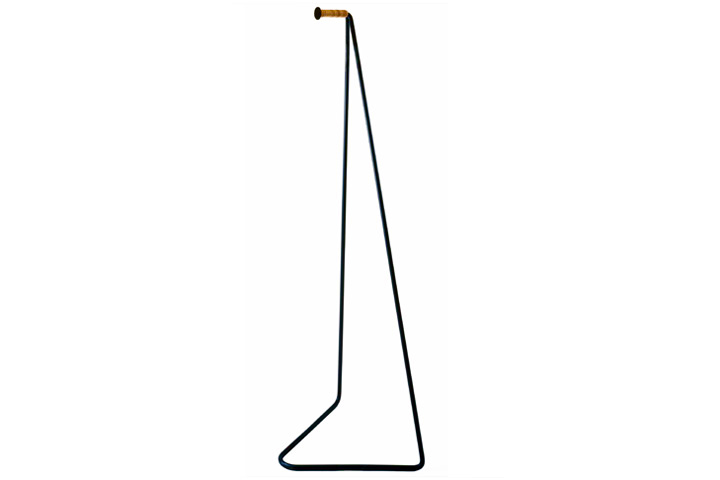 【送料無料】miyakonjo product TETSUBO leather wrapped hanger小泉 誠デザイン ミヤコンジョプロダクト テツボ 革巻ハンガー【ポイント】: