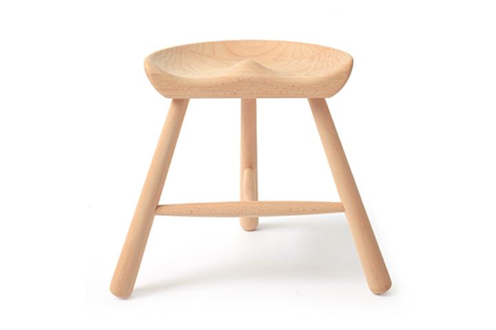 【送料無料】WERNER(ワーナー社)Shoemaker Chair No.27(座高27cm) シューメーカーチェア シューメーカースツール 北欧デンマーク 3本脚木製スツール 靴職人の椅子 キッズサイズ【ポイント】: