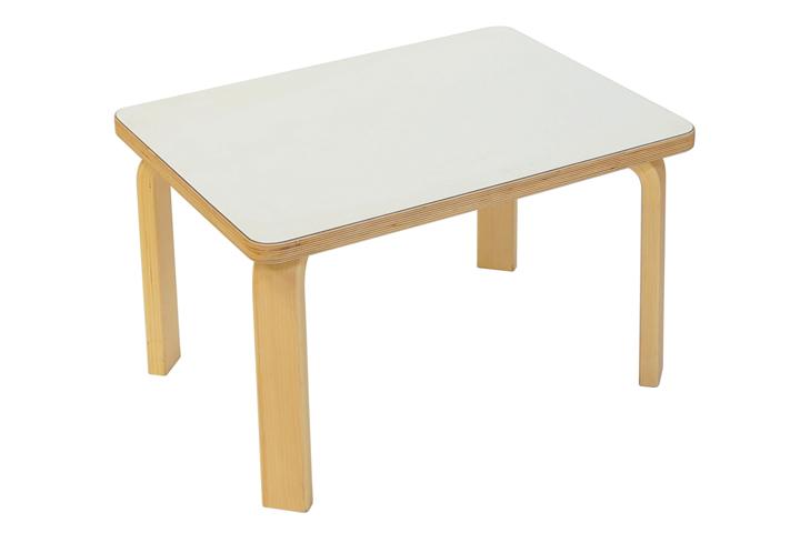 【送料無料】SDI fantasia CAROTA table(カロタ テーブル)ホワイト 日本製 木製 子ども用家具 キッズテーブル:白テーブル【ポイント】: