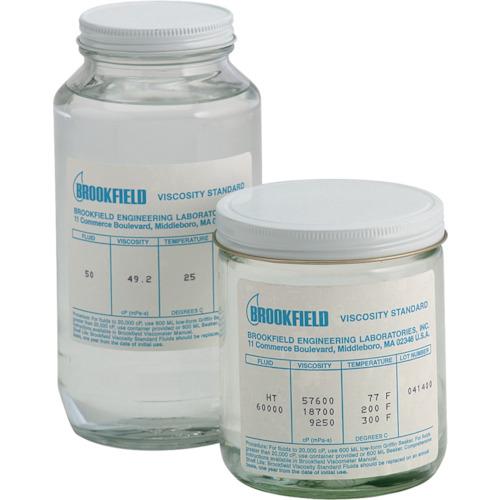 【12500CPS】ブルックフィールド 一般用シリコン粘度標準液 12500CP(1個)