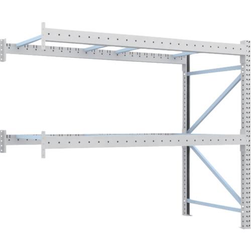 【1D20B25112B】TRUSCO 重量パレット棚1トン2500×1100×H2000連結(1台)