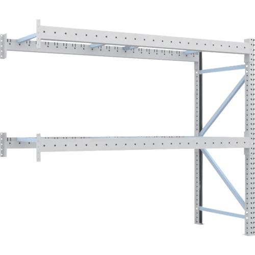 【2D20B23092B】TRUSCO 重量パレット棚2トン2300×900×H2000連結 2段(1台)