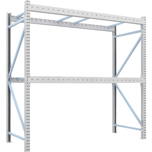 最終決算 【2D25B25102】TRUSCO 重量パレット棚2トン2500×1000×H2500単体(1台):機械工具と部品の店 ルートワン-DIY・工具