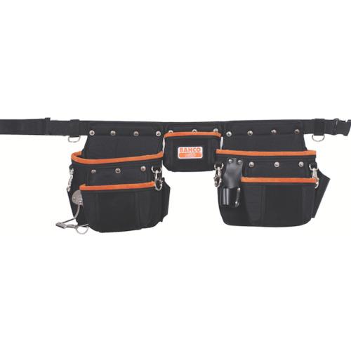 【47503PB2】バーコ 高所作業用3ポケットベルトセット(1個)
