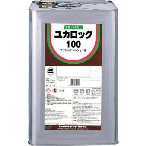 【82011401】ロック ユカロック#100 ブラウン 20KG(1缶)