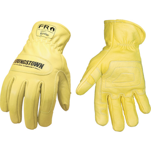 【12336560S 】YOUNGST 革手袋 FRグラウンドグローブ ケブラー(R)(1双)