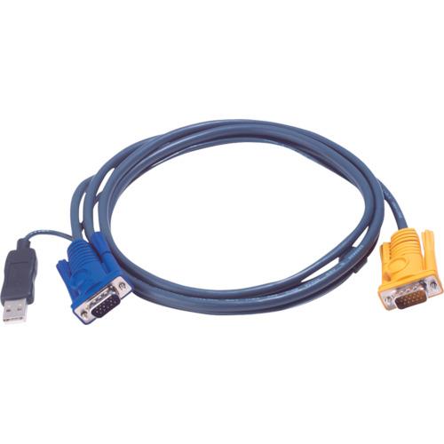 【2L5206UP】ATEN USB KVMケーブル SPHDタイプ 6m(1本)