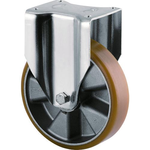 【3648ITP200P63CONVEX 】テンテキャスター 重荷重用高性能旋回キャスター(ウレタン車輪・メンテナンスフリー)(1個)