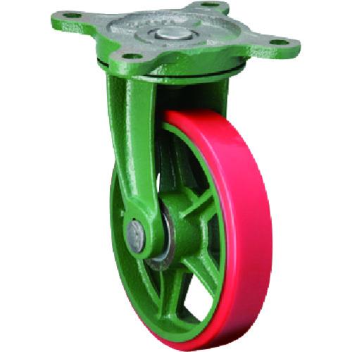【100BRULB】東北車輛製造所 標準型自在金具付ウレタン車輪(1個)