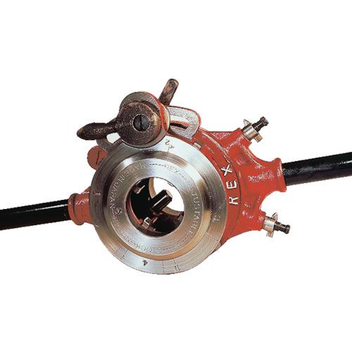 【112R】REX ラチェット式オスタ型パイプねじ切り器 112R(1台)