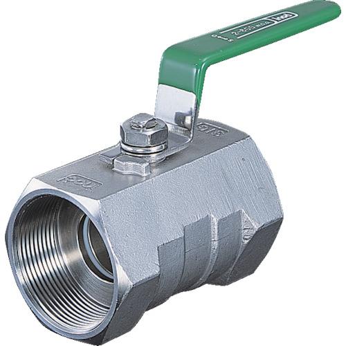 【316SRVM40A】イノック ねじ込みボールバルブ 全長83.0mm 呼び径(A)40 (1個)
