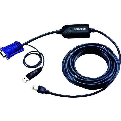 【KA7970】ATEN コンピューターモジュール(LANケーブル一体型)USB/マトリックスKVMスイッチ用(1台)