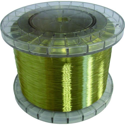 【JWT0255 】TRUSCO 黄銅ワイヤー 0.25 5Kg巻 国産(1巻)