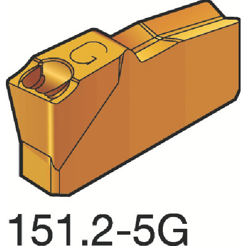 【N151.2300305G:525】サンドビック T-Max Q-カット 突切り・溝入れチップ 525(10個)