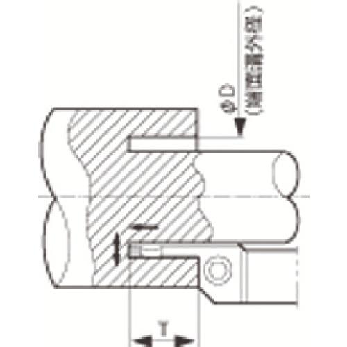 【KFMSR2525M50704】京セラ 溝入れ用ホルダ(1本)