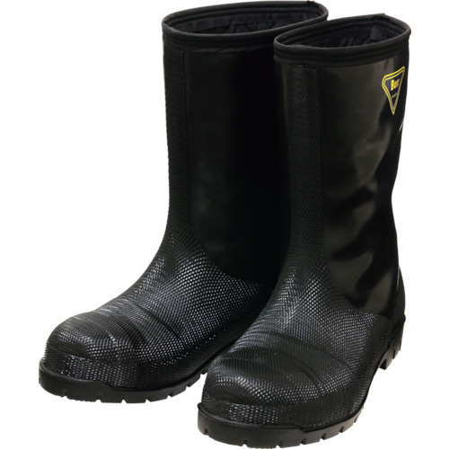 【NR04124.0 】SHIBATA 冷蔵庫用長靴-40℃ NR041 24.0 ブラック(1足)